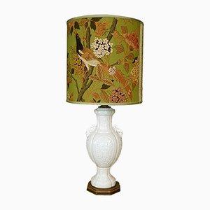 Große italienische Keramik Tischlampe von Cenacchi, 1960er