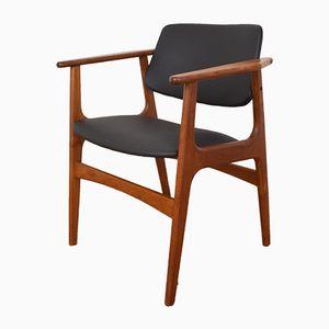 Chaise d'Appoint en Teck, Danemark, 1960s