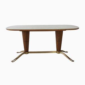 Tavolo con base a colonna, Italia, anni '50