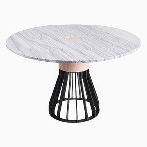 Tavolo in marmo Mewoma di Jonah Takagi
