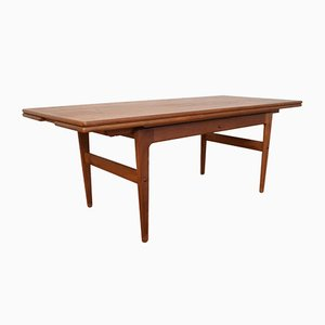 Table Basse en Teck par Kai Kristiansen pour Trioh, Danemark, 1960s