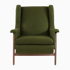 Italian Wing Chair, 1960s