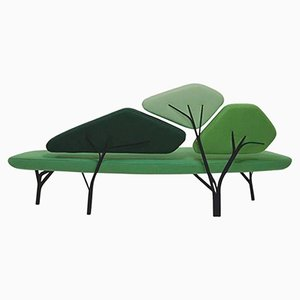 Green Borghese Sofa by Noé Duchaufour Lawrance