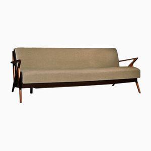 Sofá cama modelo Z de Poul Jensen para Selig OPE, años 50