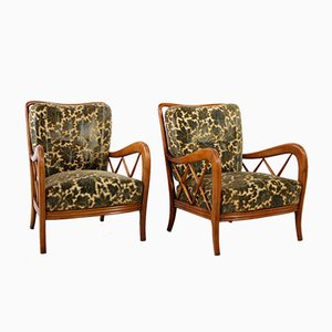 Lounge Chairs by Paolo Buffa, 1940s, Set of 2
