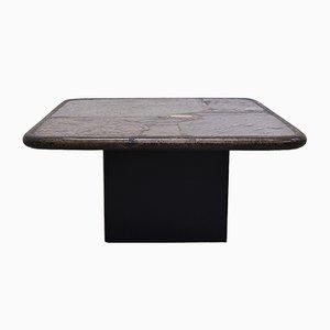 Mesa auxiliar hecha a mano de Paul Kingma, años 90