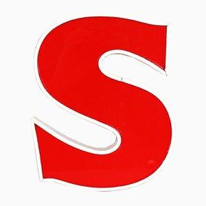 Vintage Letter S Sign
