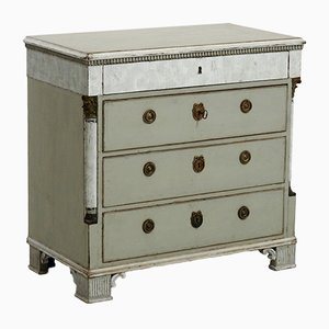 Antique Gustavian Carved Dresser