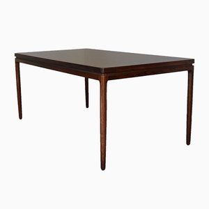 Mid-Century Extendable Rosewood Dining Table by Johannes Andersen for Christian Linneberg