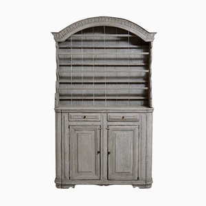 Antique Swedish 2-Part Armoire