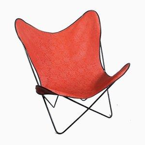 Roter Butterfly Chair von Antonio Bonet, Juan Kurchan & Jorge Ferrari Hardoy, 1950er