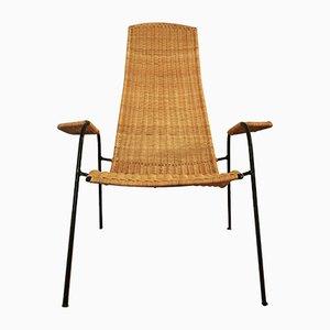 Italian Braided Armchair, 1950s