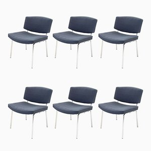 Mid-Century Conseil Chairs by Pierre Guariche for Meurop, 1960s, Set of 6
