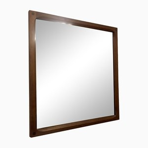Danish Teak Mirror by Aksel Kjersgaard, 1960s