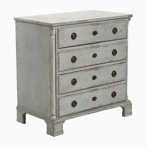Antique Gustavian Dresser with Original Lock
