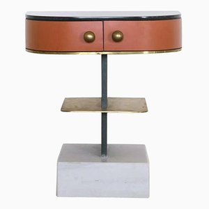 Invisible Brass Side Table by Rooms