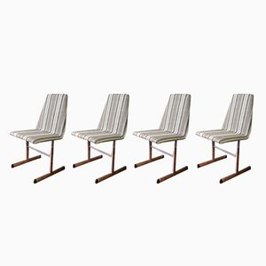 Lisse Dining Chairs by Tim Bates for Pieff, 1970s, Set of 4