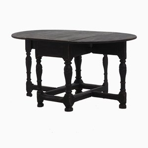 Antique Scandinavian Drop-leaf Table