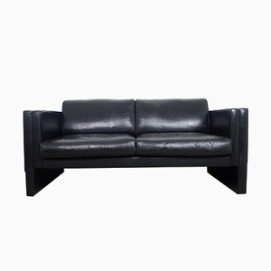 Leather Sofa by Jürgen Lange for Walter Knoll, 1980s