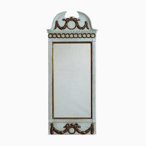 Gustavian Carved Spiegel, 1780er