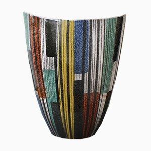 Large Italian Ceramic Vase, 1950s