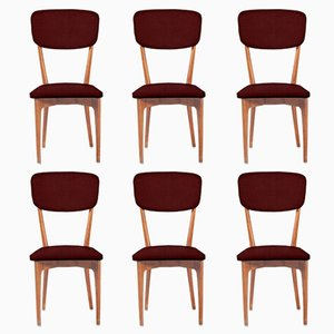Customizable Dining Chairs Model 651 by Ico Parisi for Cassina, 1950s, Set of 6