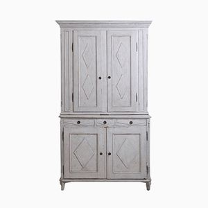 Two-Part Gustavian Cabinet, 1790s