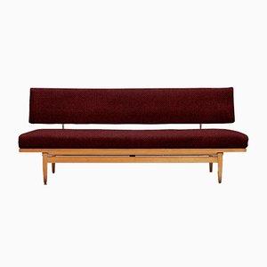 Sofá cama Mid-Century personalizable de Eugen Schmidt para ES Soloform