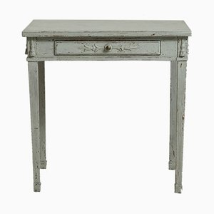 Gustavian Freestanding Console Table, 1830s