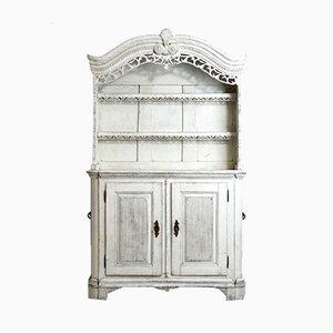 Antikes skandinavisches geschnitztes Sideboard
