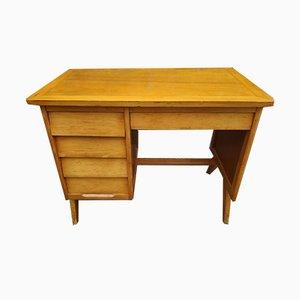 Escritorio de madera, años 50