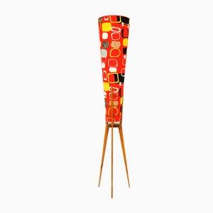 Lámpara de pie austriaca, años 50
