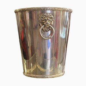 Silver Plated Ice Bucket, 1950s
