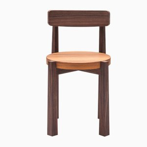 Indian Rosewood Sediolina Chair by Antonio Aricò for Editamateria
