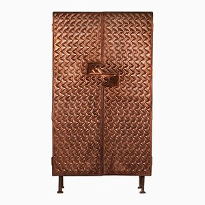 Steppes Copper Armoire by Michael Gittings