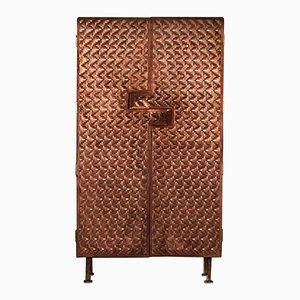 Steppes Kupfer Kleiderschrank von Michael Gittings