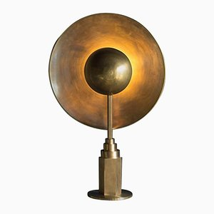 Metropolis Brass Table Lamp by Jan Garncarek