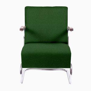 Personalisierbarer Vintage Freischwinger Sessel von Mauser Werke Waldeck