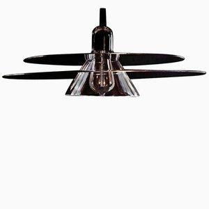 Lámpara colgante Cymbal en negro de La Chance