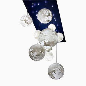 Lampada a sospensione Moon di Ludovic Clément d'Armont