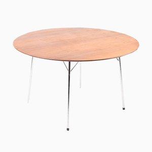 Mesa de comedor de Arne Jacobsen para Fritz Hansen, años 50