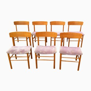 Oak Dining Chairs from Farstrup Møbler, 1970s, Set of 7