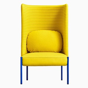 Ara Yellow Armchair by PerezOchando