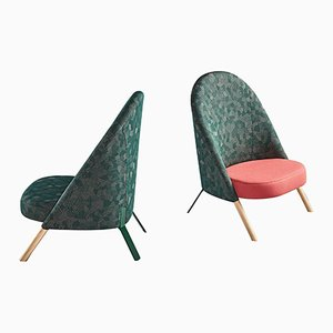 Okapi Armchairs by PerezOchando, Set of 2