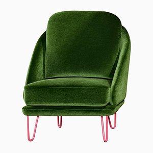 Chaise Agora Verte par Pepe Albargues