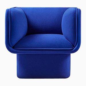 Fauteuil Block Bleu par Studio Mut