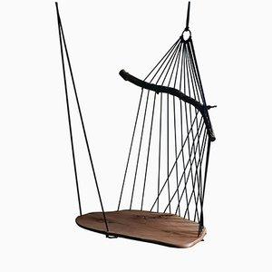 Seduta sospesa Floating Divan scultorea di Chiel Kuijl per WDSTCK