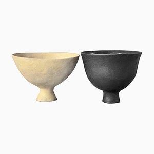 Milo Keramiklampen von Julien Barrault, 2er Set