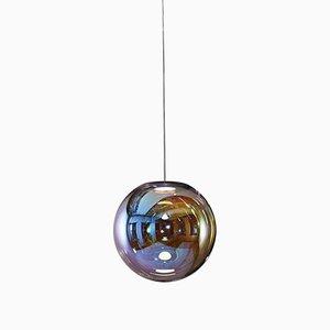 Iris Hängelampe aus Sideglas von Sebastian Scherer