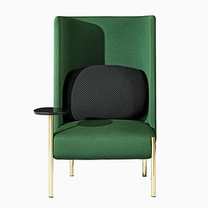 Ara Green Armchair by PerezOchando